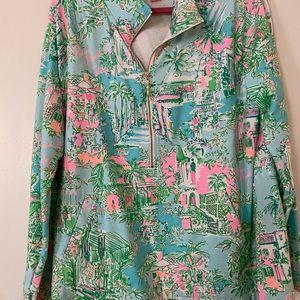 Lilly Pulitzer Popover Sweatshirt